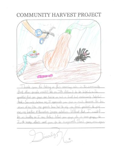 Kevin's Letter